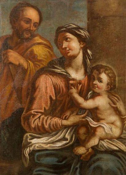 École ITALIENNE du XVIIe siècle La sainte...