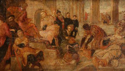 École VENITIENNE du XVIIe siècle, suiveurdePaolo...