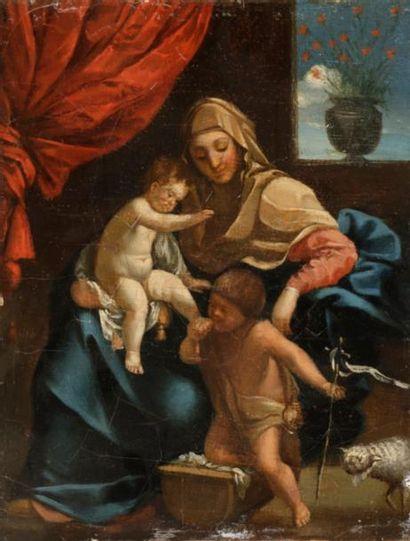 Dans le goût de Guido RENI Vierge à l'Enfant...