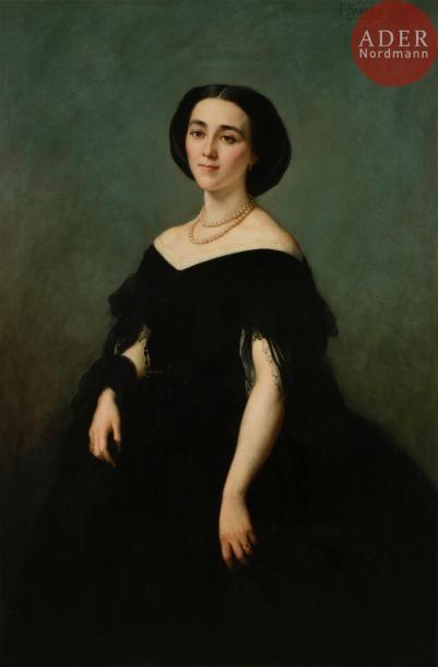 Félix Joseph BARRIAS (1822 - 1907) Portrait...