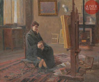Elie - Anatole PAVIL (1873 - 1944) Famille...