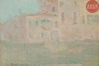Vladimir TERLIKOWSKI (1873 - 1951) Canal...
