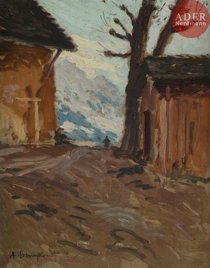 Alfred SWIEYKOWSKI (1869 - 1953) Granges...