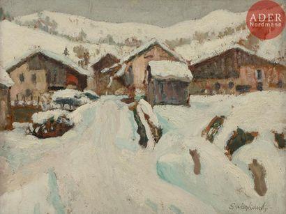 Alfred SWIEYKOWSKI (1869 - 1953) LeMont...