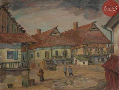 Matveï Ilitch DRAK (1887 - 1963) Ghetto juif...
