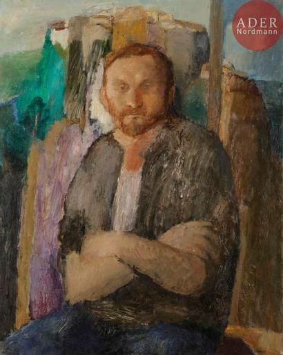 Larissa Ivanovna NAUMOVA (née en 1945) Portrait...