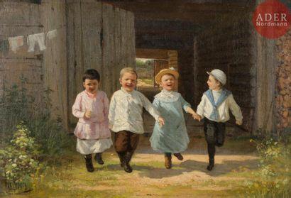 Pavel Karlovitch WENIG (1870 - 1942) Enfants...