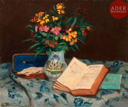 Armand GUILLAUMIN (1841-1927) Nature morte...