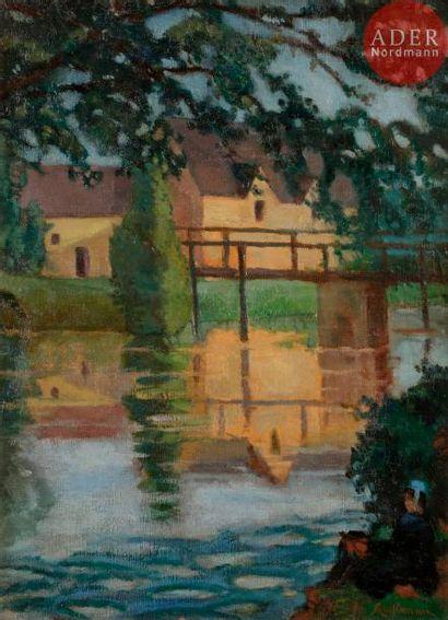 Armand GUILLAUMIN (1841-1927) Bretonne et...