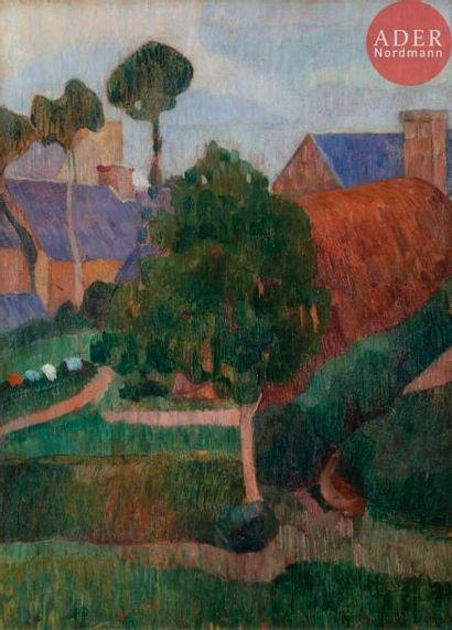 Gad Frederik CLEMENT (1867-1933) Paysage...