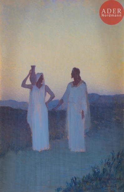Alphonse OSBERT (1857-1939) Le Christ et...