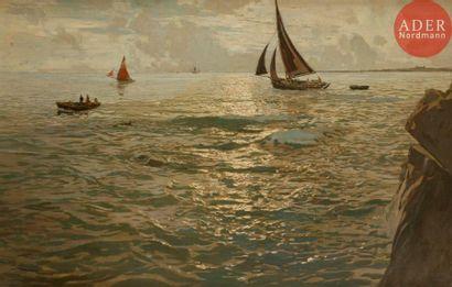 Amédée Julien MARCEL-CLÉMENT (1873-?) Près...