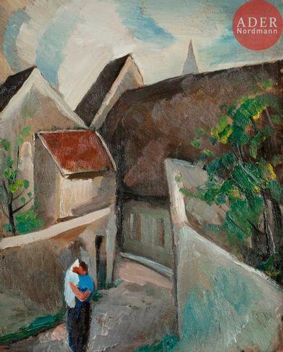 Julio GONZALES [espagnol] (1876-1942) Monthyon,...