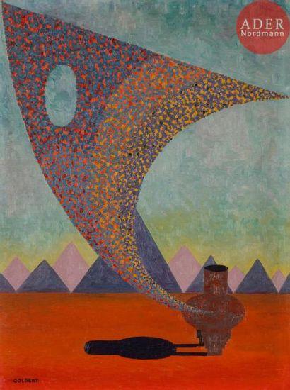 *Frank OVERTON COLBERT (1895-1953) The Origin...