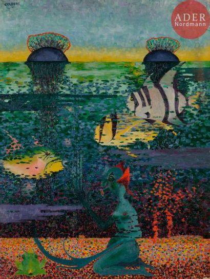*Frank OVERTON COLBERT (1895-1953) The Undersea...
