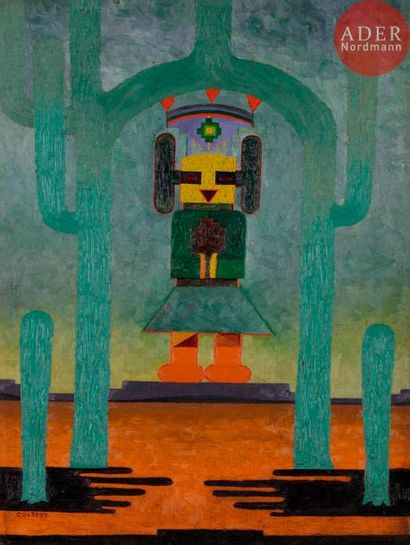 *Frank OVERTON COLBERT (1895-1953) The Rain...