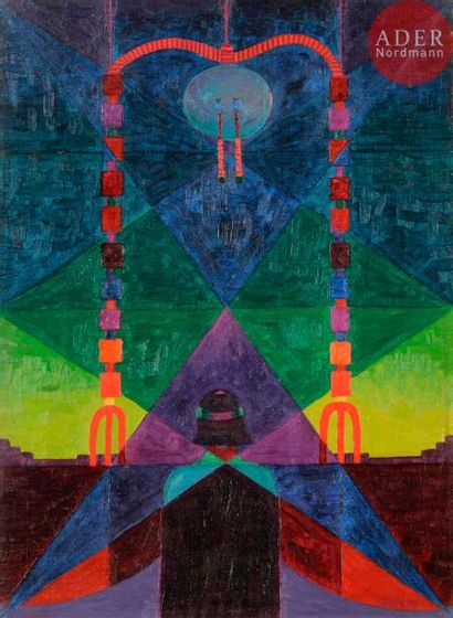 *Frank OVERTON COLBERT (1895-1953) Indien,...