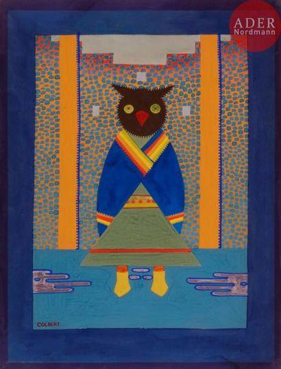 *Frank OVERTON COLBERT (1895-1953) Monwu...