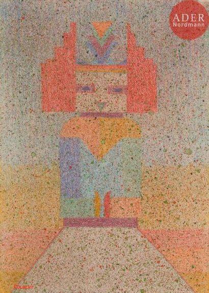 *Frank OVERTON COLBERT (1895-1953) Sans titre,...