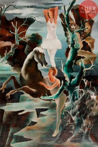 Jean MAREMBERT (1900-1968) Lande mystérieuse...
