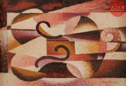 Serge CHARCHOUNE [russe] (1888-1975) Violon,...