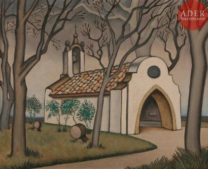 *Félix DEL MARLE (1889-1952) Pays basque,...