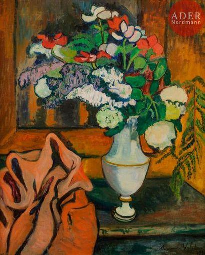 Suzanne VALADON (1865-1938) Vase de fleurs...