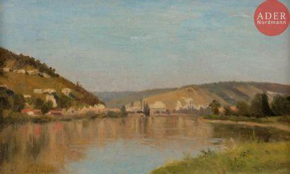 Stanislas LÉPINE (1835-1892) Rive droite...