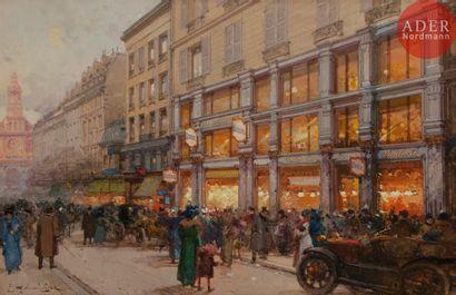 Eugène GALIEN-LALOUE (1854-1941) Rue de la...