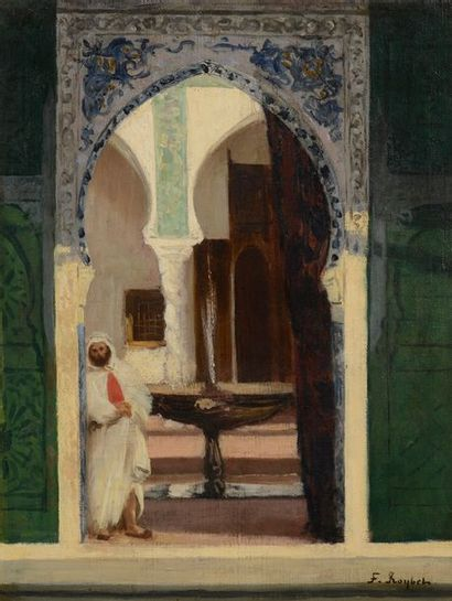 Ferdinand ROYBET (1840-1920) Alger, oriental...