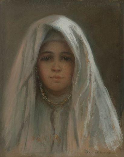 Édouard BRINDEAU DE JARNY (1867 - 1943) Jeune...