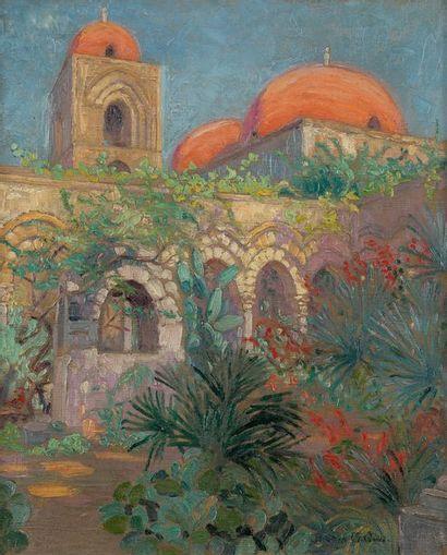 Suzanne DROUET-REVEILLAUD (1885-1970) Palerme,...