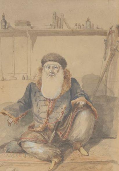 Colonel F. Colombari, milieu du XIXe siècle,...