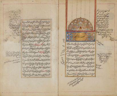 Manuscrit, traité de Jurisprudence, Multaqa...