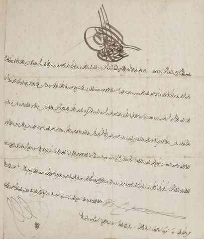 Firman du Sultan 'Abdulmecid (r. 1839-61),...