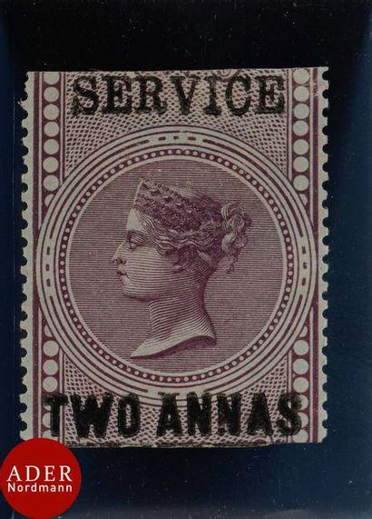 INDE Service n°13, neuf *, signature au verso,...