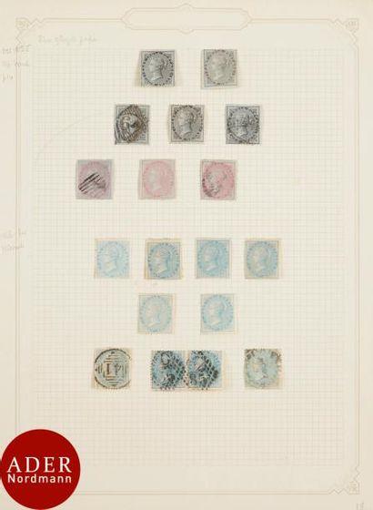 INDE Très bel ensemble du n°7 (Stanley Gibbons...