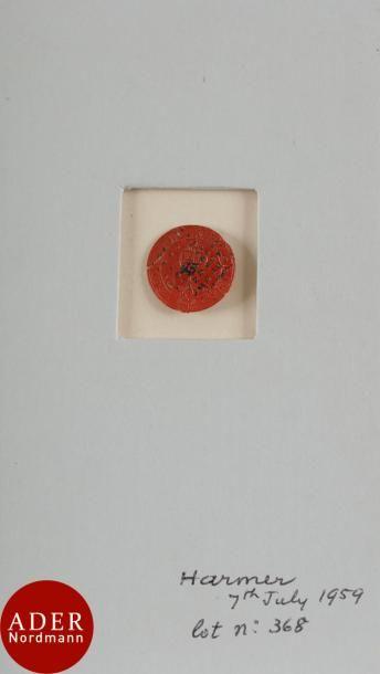 INDE Très rare n°1B, 1/2 Anna rouge Scinde...