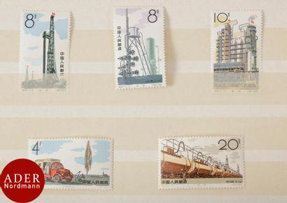 CHINE Série complète Industrie du pétrole....