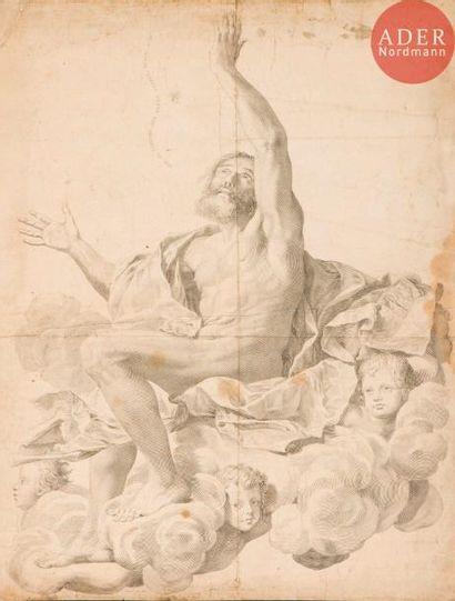 Claude Mellan (1598-1688) Saint Paul ravi...