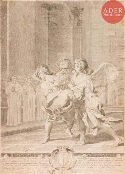 Claude Mellan (1598-1688) Saint Pierre Nolasque...