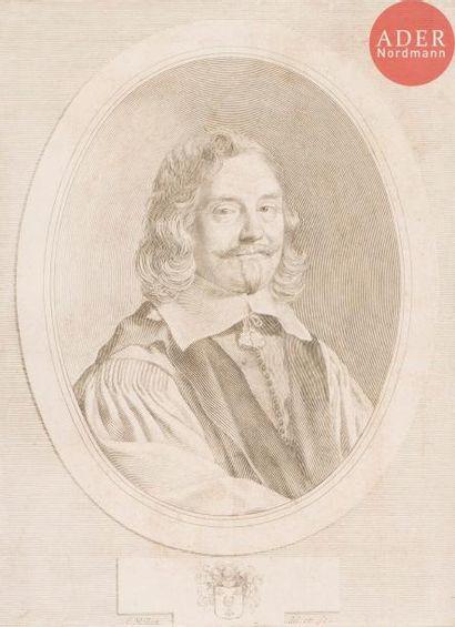 Claude Mellan (1598-1688) Dreux d'Aubray....