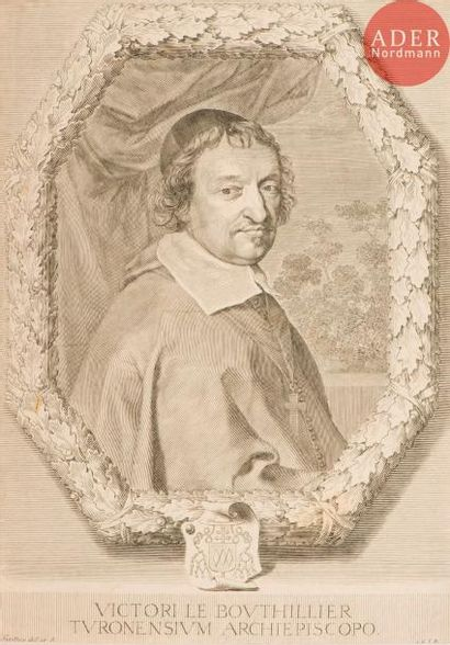 Claude Mellan (1598-1688) Victor le Bouthillier....
