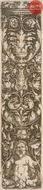 Hans Sebald Beham (1500-1550) Montants d'ornements....