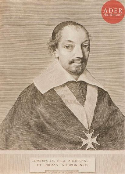 Claude Mellan (1598-1688) Claude de Rebé,...