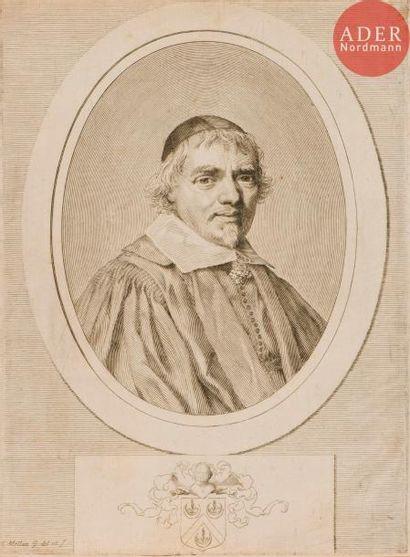 Claude Mellan (1598-1688) Omer Talon. Burin....