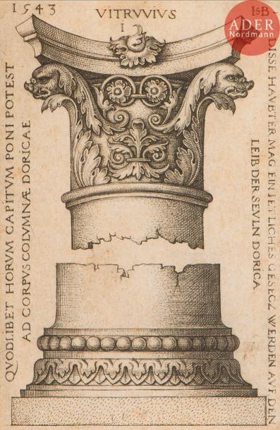 Hans Sebald Beham (1500-1550) Dessins de...