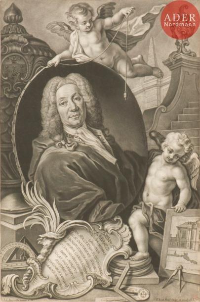 Johann Jakob Haid (1704-1767) Portrait de...