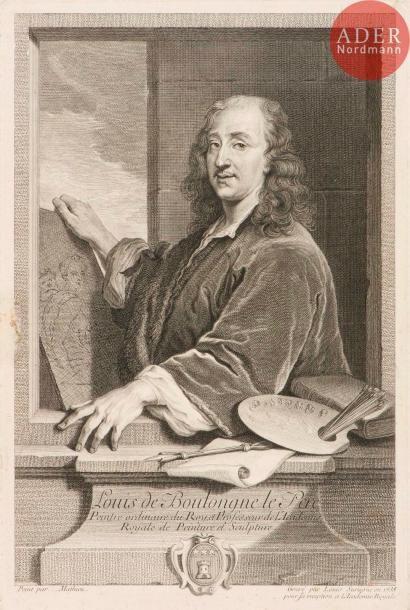 Louis Surugue (c. 1686-1762) Louis de Boulongne...
