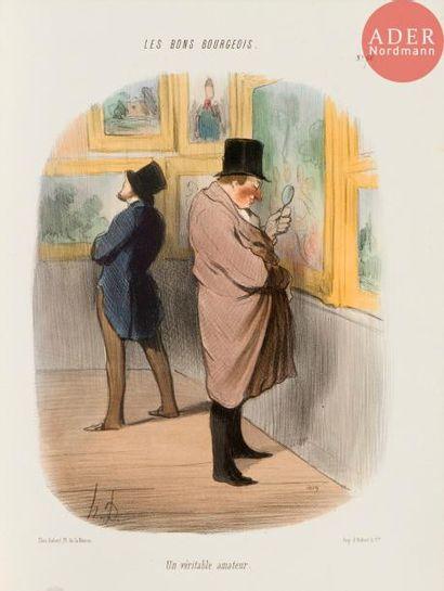 Honoré Daumier (1808-1879) Pl. des séries...